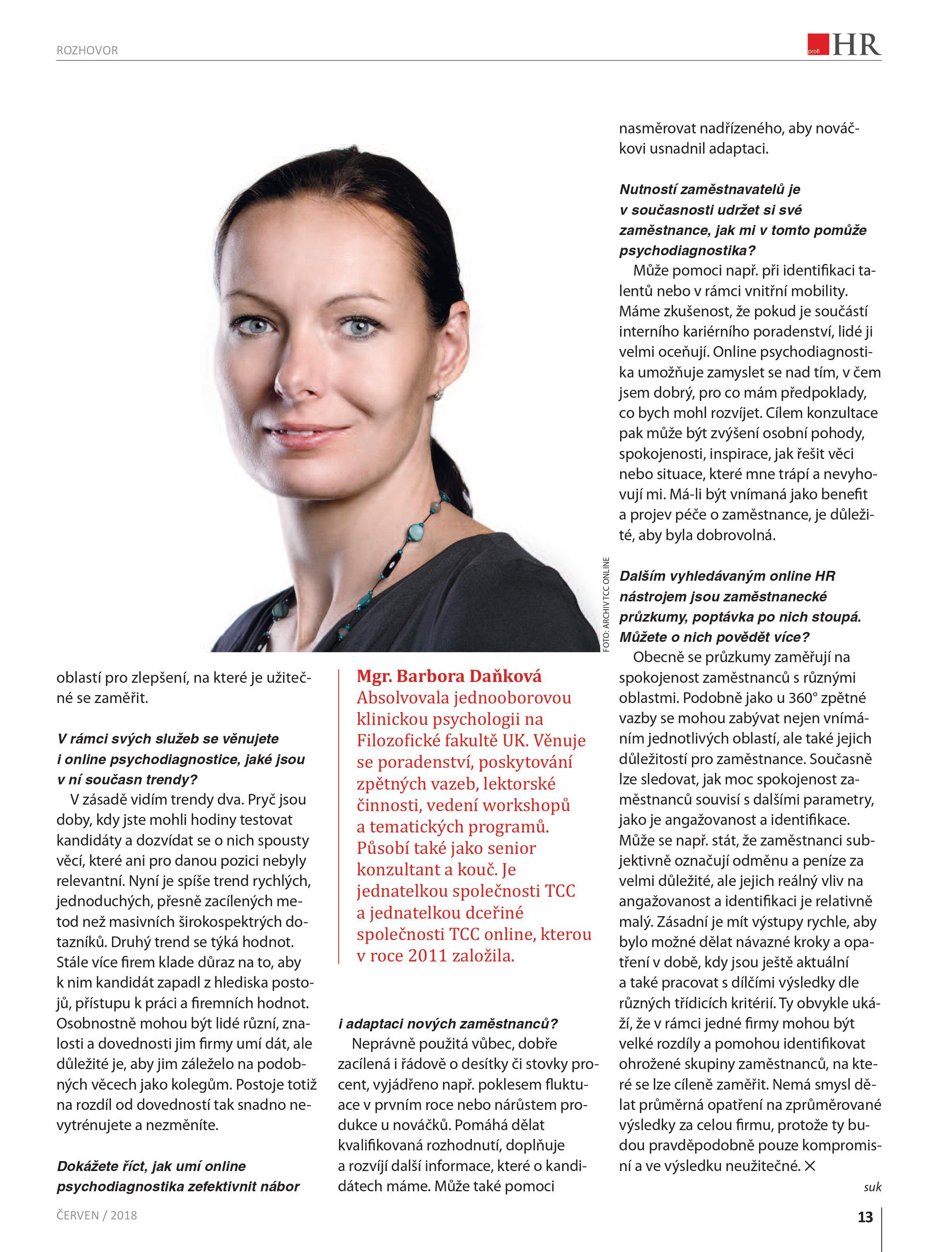 Barbora Daňková_článek HR Profi - str. 2