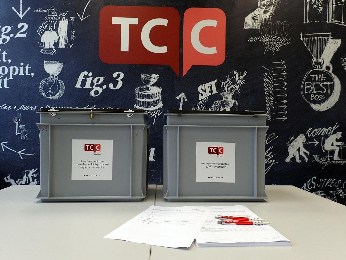 Boxy na sběr formulářů při průzkumech, zajištění anonymity