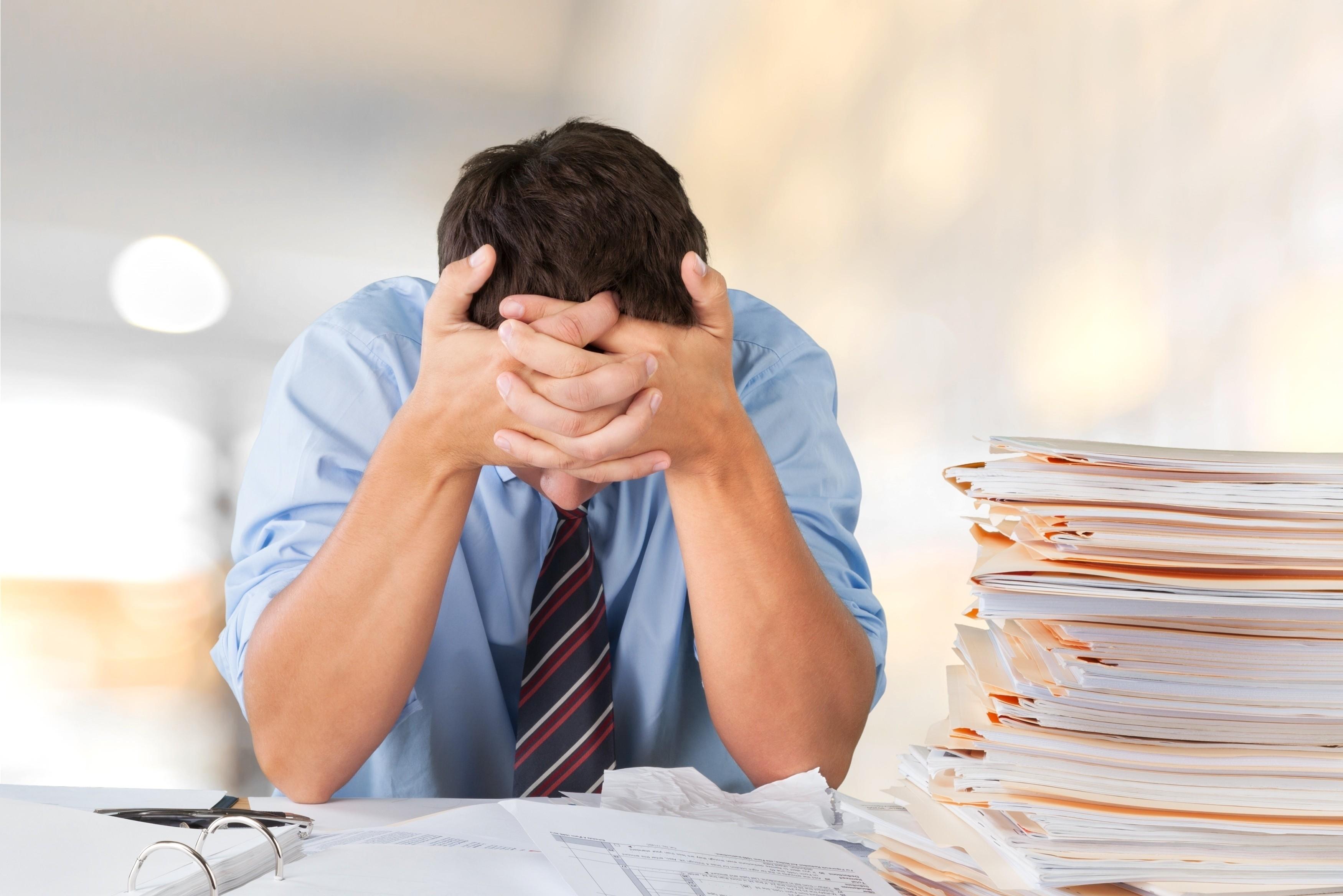 Muž ve stresu – zdroje stresu