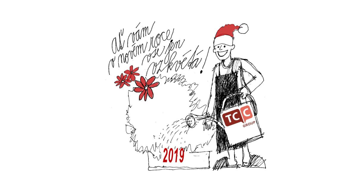 t vám v novém roce vše jen vzkvétá!