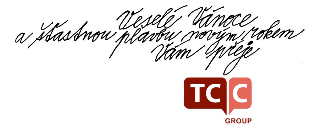 Veselé Vánoce a šťastnou plavbu novým rokem přeje TCC group