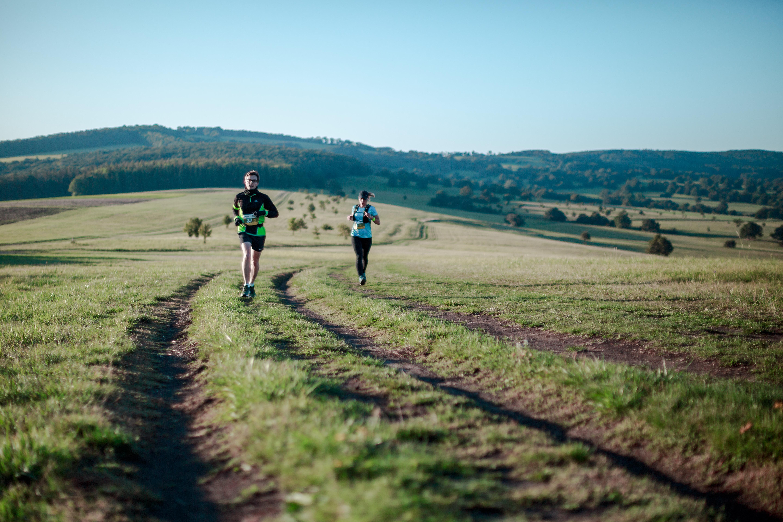 Běžci na trase