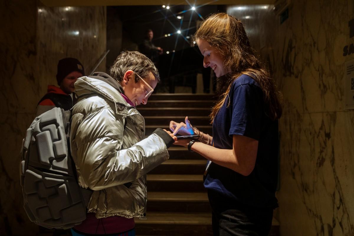 Hlasování prostřednictvím tabletů